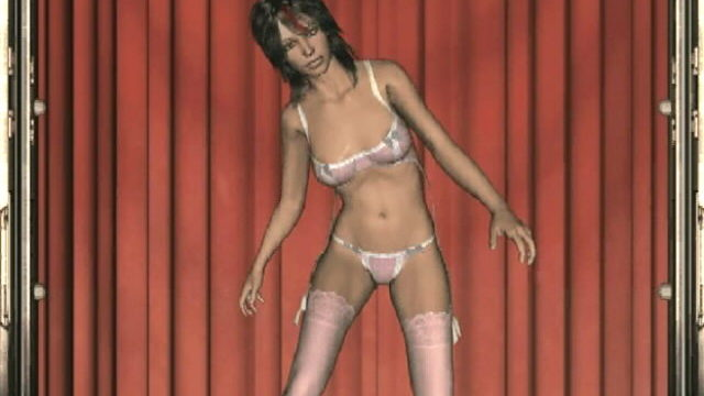 Interesting Dark-haired 3-d Nubile Bitch Cyn Dancing Temptingly In Her Pinkish Lingeria