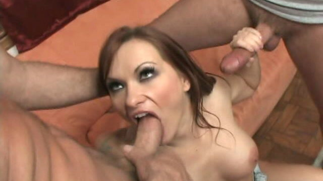 Thick Meloned Slut Katja Kassin Gargling 2 Fat Wangs With Eagerness