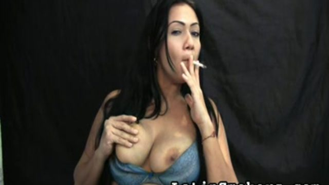 Huge-boobed Mom Smoking Fetish Fashion