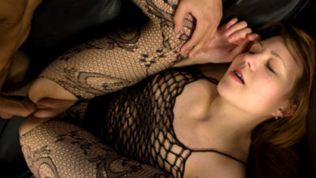 Ultra-kinky Nubile In Fishnet Penetrated