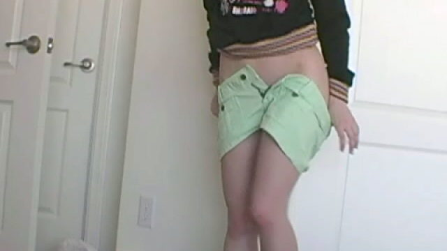 Sweety Teen Superslut Annabella Dancing And Undressing Erotically For You