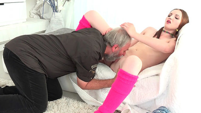 Tyna Has Gonzo Bang-out With Ultra-kinky Elder Fart