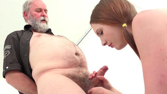 Tyna Has Gonzo Fucky-fucky With Horny Elder Fart
