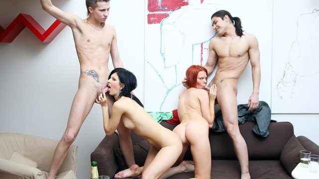 Astounding Soiree Hookup Gig With A Mischievous Ginger-haired