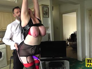 Obese Brit Whore Plumbed In Sadism & Masochism Act