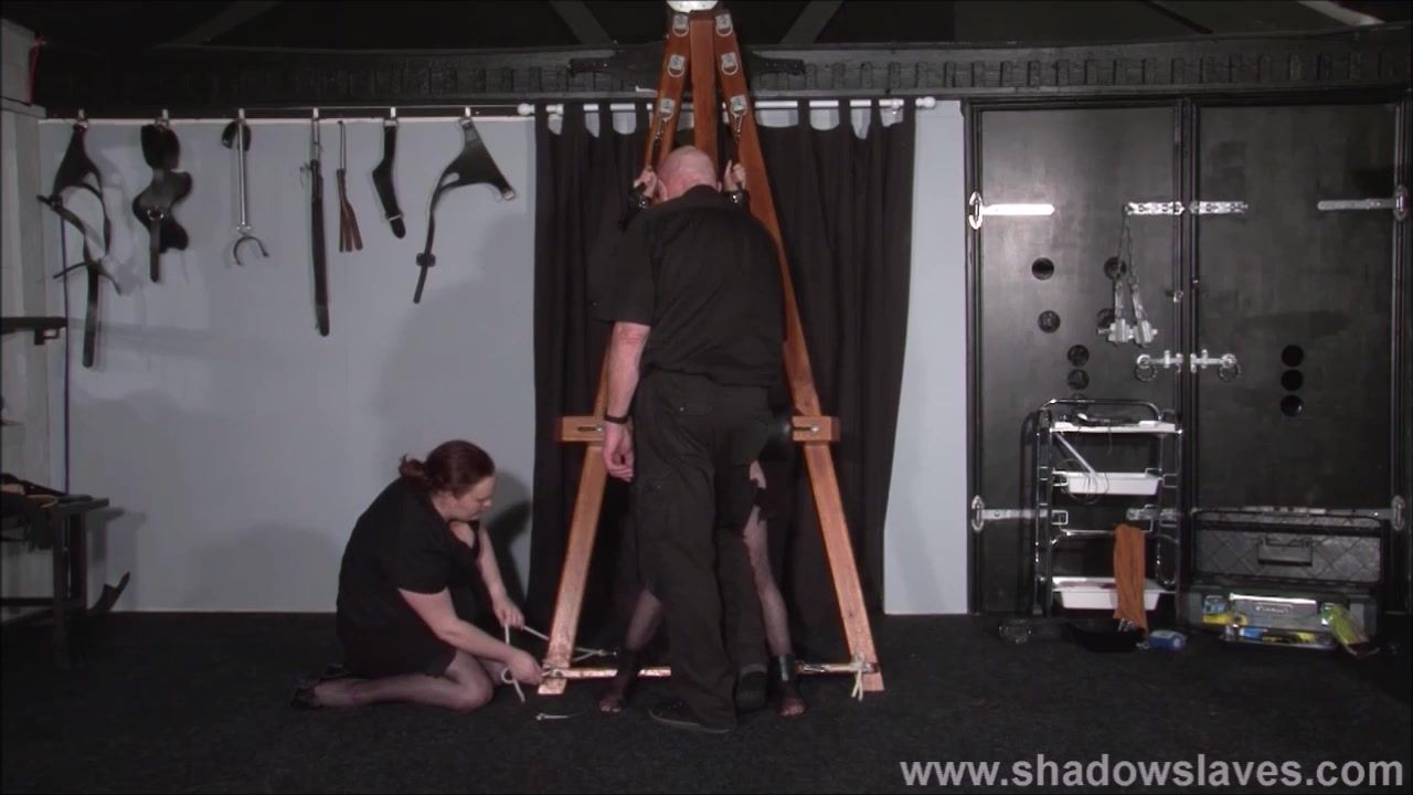 Strapped Elise Graves Snatch Disciplined And Hard-core Bondage & Discipline Of E