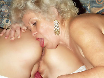 Warm Older Ladies Toying With A Faux-cock