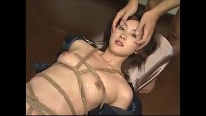 Bound Chinese Takes Eye Mass Ejaculation