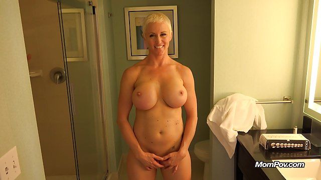 Big-chested Mother Is A Full Crank