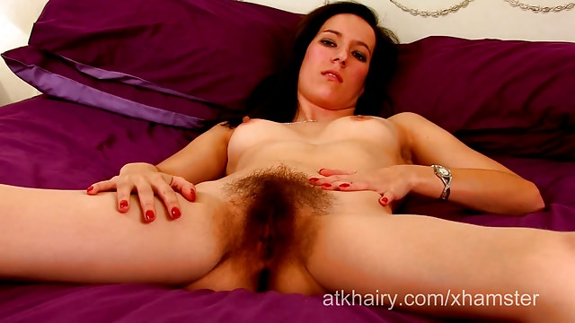Youthful Furry Chick Sadie Mathews Stretches Her Furry Thicket