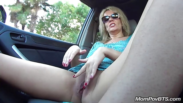 Huge-boobed Grind Older Woman Public Displaying