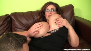 Huge-titted Mother Heads After Junior Dude