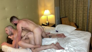 Gia Paige's First Ambidextrous Mmf Threeway With Johnny Hill