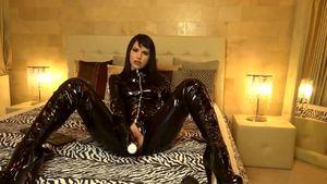 True Mistress In Ebony Spandex