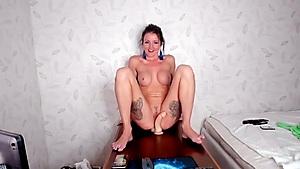 Splendid Female Needs To Railing On You